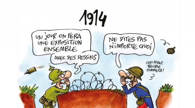 Exposition Dessine-moi la guerre – 1914-2014, 26 mai-30 juin 2015