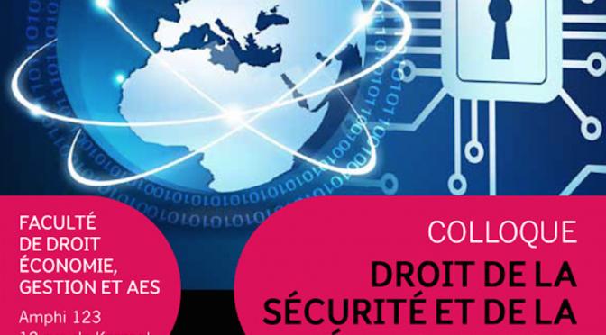 Compte-rendu du colloque : Droit de la sécurité et de la défense en 2015