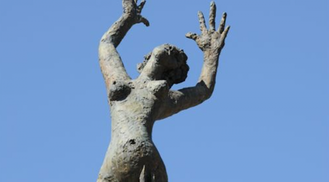 Fenosa à Oradour : un monument face à la mémoire, 25 avril 2016
